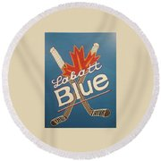 Labatt Blue Round Beach Towel