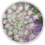 Lacy Round Beach Towel