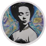 Lady Dandridge Round Beach Towel
