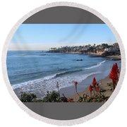 Laguna Beach Round Beach Towel