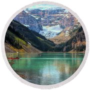 Lake Louise - Canadian Rockies  Round Beach Towel
