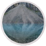 Lake Maligne Round Beach Towel