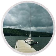 Lake Windermere Round Beach Towel