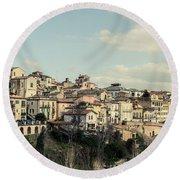 Lanciano - Abruzzo - Italy  Round Beach Towel