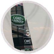 Land Rover Bar Round Beach Towel