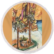 Lands End Cabo  Round Beach Towel