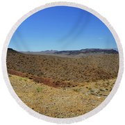 Landscape Of Arizona Round Beach Towel by RicardMN Photography