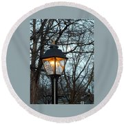 Lantern Round Beach Towel