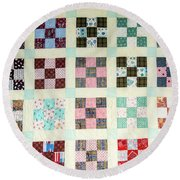 Large Quilt Round Beach Towel