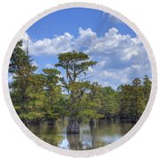 Largemouth Country Round Beach Towel