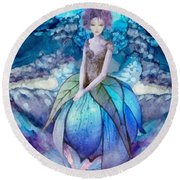 Larmina Round Beach Towel