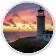 Lasting Light Round Beach Towel