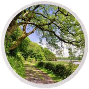 Laugharne 1 Round Beach Towel