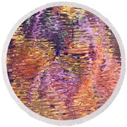 Laughter In Color Round Beach Towel