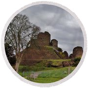 Launceston Castle Round Beach Towel
