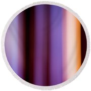 Lavender And Rose Gold Round Beach Towel