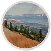 Layers And Light At Bryce Canyon Round Beach Towel