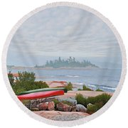 Le Hayes Island Round Beach Towel