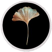 Leaf 17 Round Beach Towel