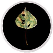 Leaf 25 Round Beach Towel