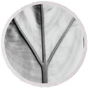 Leaf1 Round Beach Towel