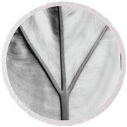 Leaf1 Round Beach Towel