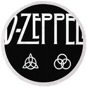 Led Zeppelin 2 Round Beach Towel