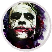 Ledgerjoker Round Beach Towel by Ken Meyer jr