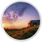 Legacy Of The Ancients Round Beach Towel