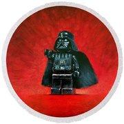 Lego Vader Round Beach Towel