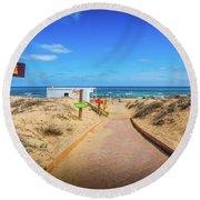 Leisure Beach Round Beach Towel