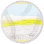 Life Everlasting Round Beach Towel by Lenore Senior