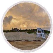 Lifeguard Stand 2016 Round Beach Towel