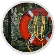 Lifesaver Round Beach Towel