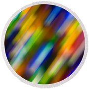 Light In Motion Round Beach Towel