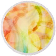 Light Soul Round Beach Towel