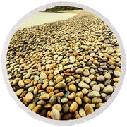 Lillico Beach Tasmania Round Beach Towel