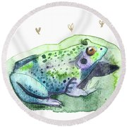 Lily Padded Round Beach Towel