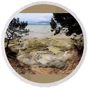 Lime Bay Tasmania 5 Round Beach Towel