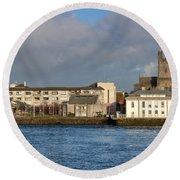 Limerick City Hall Round Beach Towel