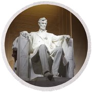 Lincoln Full Round Beach Towel