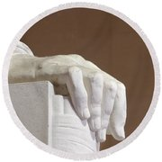 Lincoln Right Hand Side Round Beach Towel