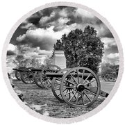 Line Of Fire Round Beach Towel by Paul W Faust - Impressions of Light