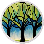 Lineage  Round Beach Towel