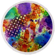 Lion For A Day Round Beach Towel