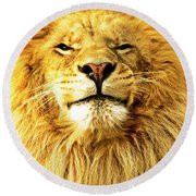 Lion King 1 Round Beach Towel