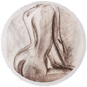 Lisa Round Beach Towel