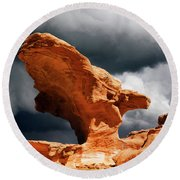 Round Beach Towel featuring the photograph Little Finland Nevada 8 by Bob Christopher