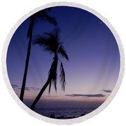 Live Aloha Round Beach Towel