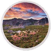 Lizard Head Wilderness Round Beach Towel